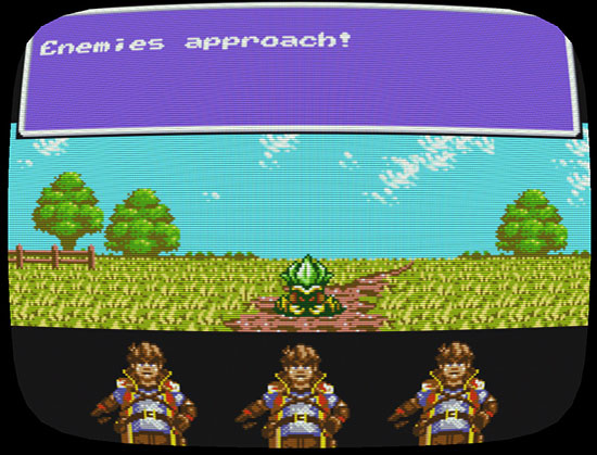 Another Star 2 battle screenshot.
