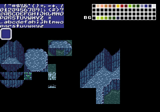 Old cave tileset