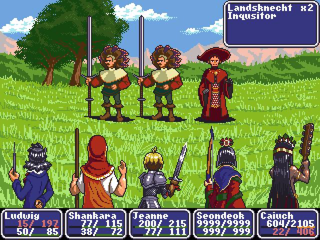 RPG battle go!